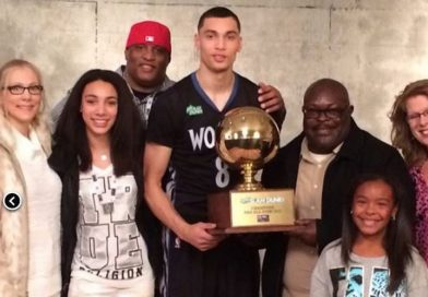 Zach LaVine from Bothell High, Puts Up Big Points