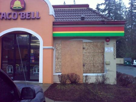 Bothell Taco Bell: New Drive Thru