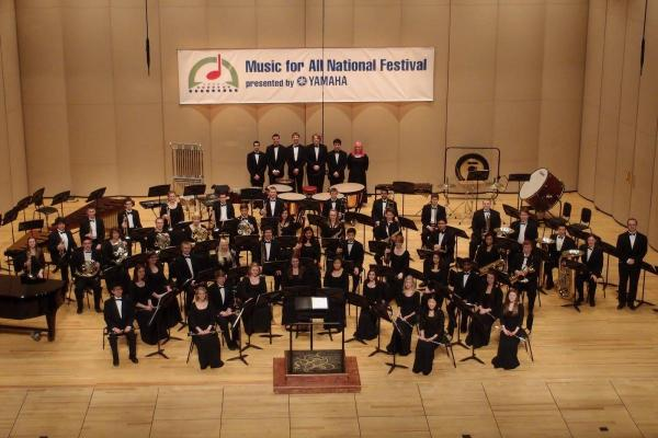 Bothell High School at the National Concert Band Festival