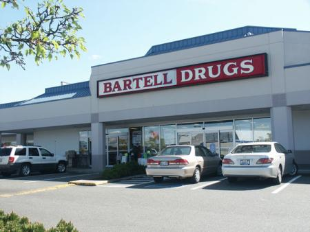 Bartell Drug Store in Bothell Washington. Next to QFC in Canyon Park