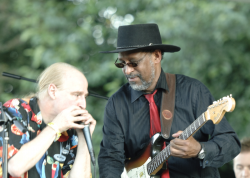 Chester Dennis Jones and Jeff Herzog will be at the Labor Day Festival Bothell Blues