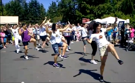 Bothell Flash Mob at Country Village Farmers Market
