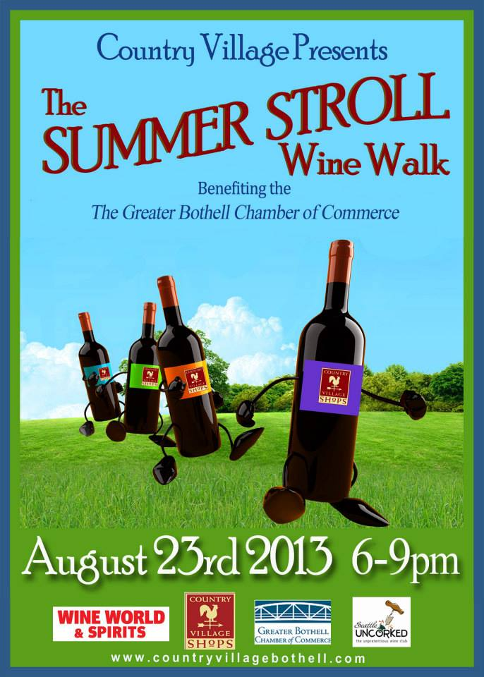 Bothell Event: Country Village Summer Wine Walk