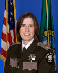 Bothell Has a new police chief Carol Cummings