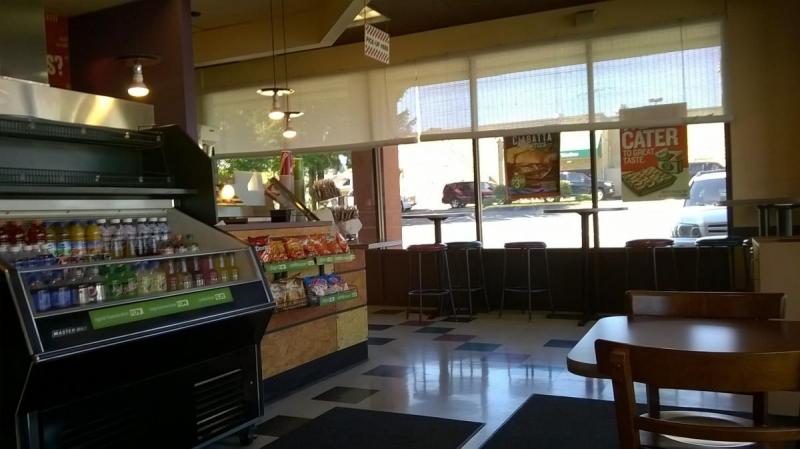 Bothell Quiznos. Great product, needs some smiles