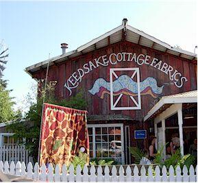 Keepsake Cottage Fabrics in Bothell Washington.