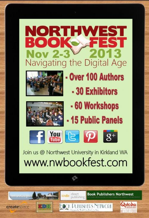 northwest bookfest 2013 is a Bothell non-profit that has an event in Kirkland Washington