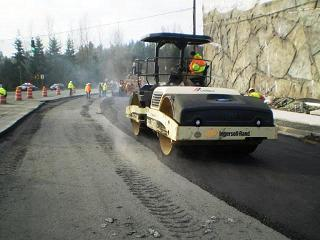SR-522 Construction in Bothell Washington