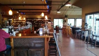 Village Wines in Woodinville Washington is a great place to drink coffee, wine and mooch off of wifi.