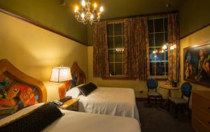 McMenamins Bothell Hotel Room. Nice!