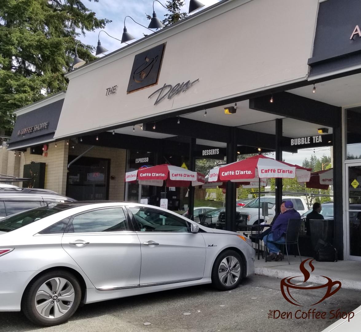 The Den Coffee Shop Bothell Washington