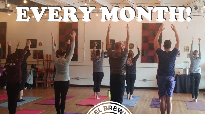 Bothell Event Yoga and Beer at Decibel Brewing