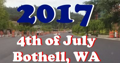 4th of July in Bothell 2017 Map and Details