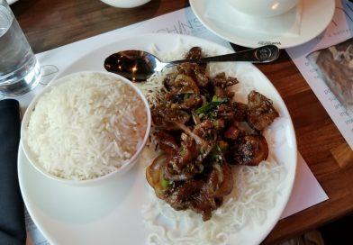 Inchin's Bamboo Garden Mongolian Beef