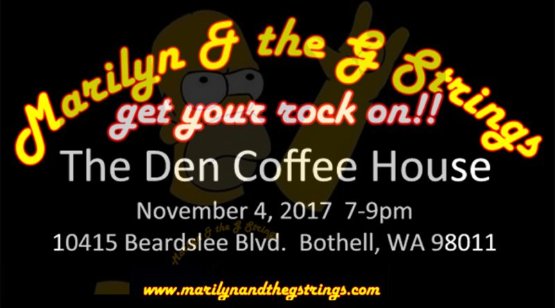 Bothell live music Marilyn and the G Strings