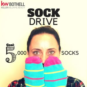 Bothell Sock Drive by Keller Williams