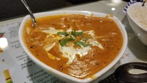 Dine India in Bothell Washington Butter chicken