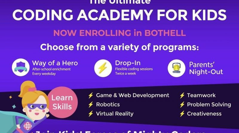 Bothell coding school for kids, Mighty Coders