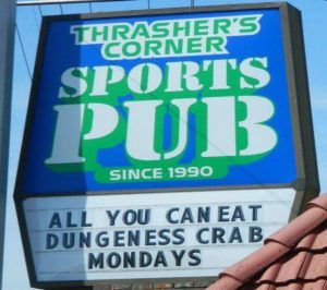 Bothell Karaoke night at Thrashers Corner Pub
