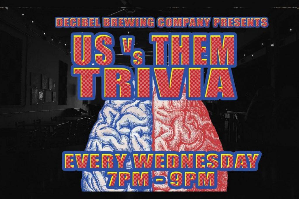 Trivia night at Decibel Brewing in Bothell Washington