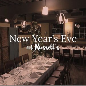 New Years 2019 in Bothell at Russell's Fine Dining