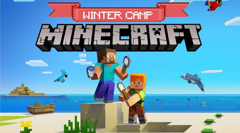 Bothell Kids Minecraft Mods Mid-Winter Camp