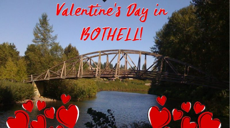 Valentine's Day in Bothell Washington.