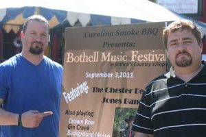 Steve and Sean from the first Bothell Blues Festival
