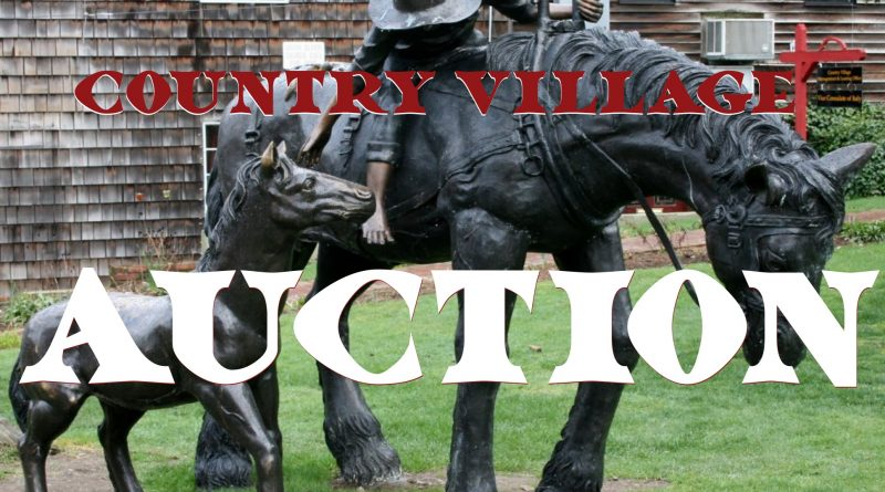 Country Village is Auctioning off Village Keepsakes