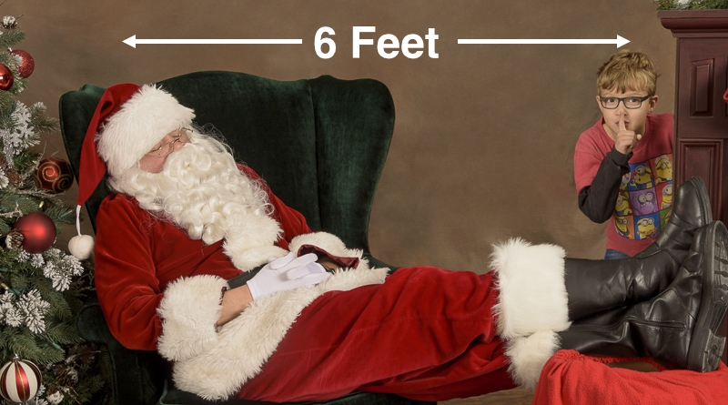 Santa Photos - Safe in Bothell, Mill Creek and Northshore