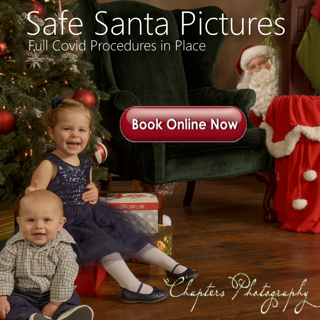 Bothell Safe Santa Pictures with Chapters Photography
